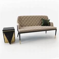 Sofa For Two 3d Image by Charla Two Seat Sofa 3d Model Cgtrader