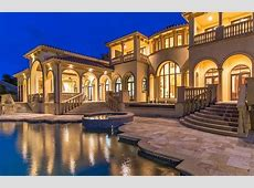 Marco Island Mediterranean Mansion With 20 Car Garage Re Listed   Homes of the Rich