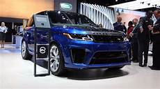 2019 Land Rover Svr by 2019 Range Rover Sport Debuts In Hybrid More