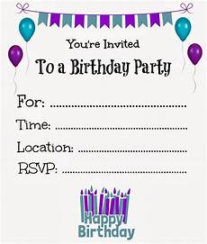 Invitation Cards To Print Free Printable Birthday Invitations Online Free