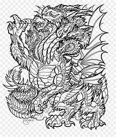 Ausmalbilder Drachen Erwachsene Ausmalbilder Erwachsene Drachen