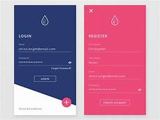 Android Registration Form Design 50 Mobile Login And Signup Forms For Your Inspiration