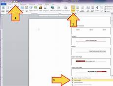 How To Design Letterhead In Word Word 2010 Custom Margins And Locking Letterhead