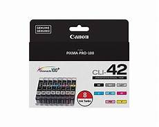 Canon Pixma Pro 100 Orange Light Canon Pixma Pro 100 8 Color Ink Combo Pack Oem