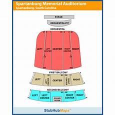 Spartanburg Memorial Auditorium Seating Chart Spartanburg Memorial Auditorium Events And Concerts In