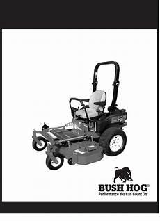 Bush Hog Lawn Mower Commercial Series User Guide