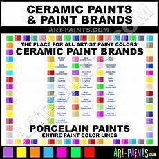 Ceramic Paint Color Chart Ceramic Art Paints Ceramics Porcelain Glazes Stains