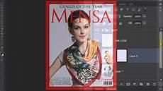 A Magazine Photoshop Tutorial How To Make A Custom Magazine Cover