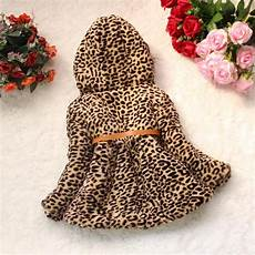 newborn coats for printed toddler baby warm outerwear leopard print coat
