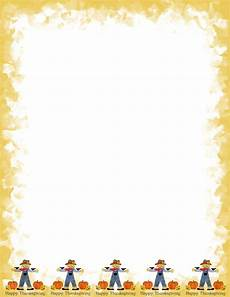Autumn Stationery 9 Best Images Of Fall Border Templates Printable Fall