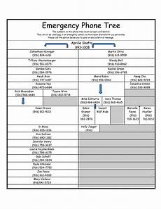 Emergency Phone Tree 50 Free Phone Tree Templates Ms Word Amp Excel ᐅ Templatelab