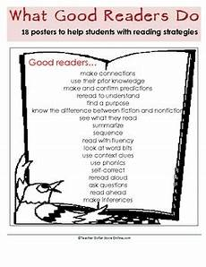 Struggling Readers Chart 1000 Images About What Good Readers Do On Pinterest