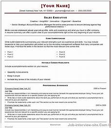 Resume Format For Interview Free 40 Top Professional Resume Templates
