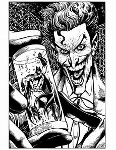 joker coloring pages to and print for free