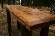 Rustic Wood Sofa Table 3d Image by Rustic Reclaimed Barnwood Sofa Table By Echopeakdesign On Etsy