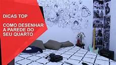 como desenhar a parede do seu quarto