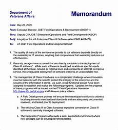 Sample Of Memoranda 11 Formal Memorandum Templates Free Sample Example Format