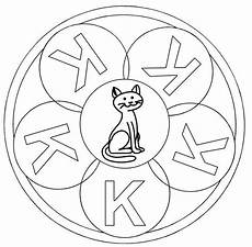 www kinder malvorlagen buchstaben mandala ausmalbild mandalas mandala buchstabe k zum ausmalen