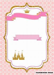 Princess Party Invitations Printable Free Free Printable Royal Princess Party Invitation Templates
