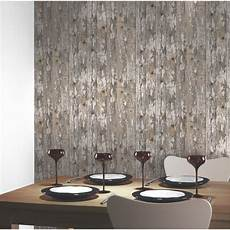 Designs Ebay Modern Wooden Wood Wallpaper Feature Wall Whole Room