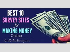 Top 10 Best Paid Survey Sites To Make Money Online, Scam Free!