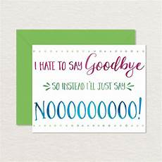 Free Printable Farewell Card For Colleague Printable Goodbye Card Funny Goodbye Card Printable