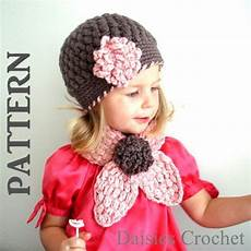crochet kids 2 patterns pdf crochet hat scarf set newborn infant toddler
