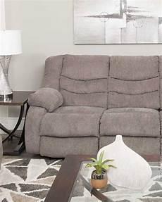 Signature Design By Tulen Gray Reclining Sofa And Loveseat Tulen Gray Reclining Sofa Grey Reclining Sofa Reclining