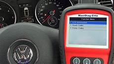 Golf Airbag Light Reset Vw Golf Mk6 Airbag Light Diagnose Amp Reset 9439771 Youtube