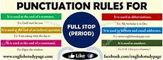 Period Punctuation Punctuation Rules For Full Stop Or Period Or Point