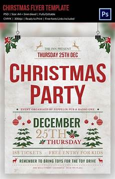 Work Christmas Party Flyer 60 Christmas Flyer Templates Free Psd Ai Illustrator