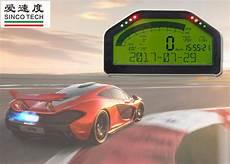 Black Light Automotive Green Backlight Race Car Gauges Digital Sensor Lcd Dash