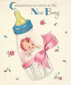 Baby Post Cards New Baby Greeting Cards 1956 Organized Clutter