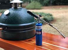How To Light Big Green Egg Grill How To Light Your Big Green Egg With A Grill Torch Jjgeorge