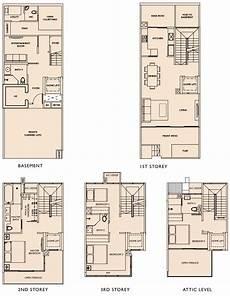 Floor Plan Of A Villa Este Villa Floor Plans Este Villa Cluster Houses