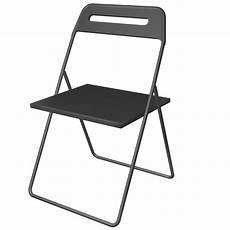 Fold Out Sofa Chair Png Image by Cad And Bim Object Nisse Folding Chair Ikea
