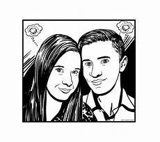 desenho em preto e branco estilo hq no elo7 jo 227 o