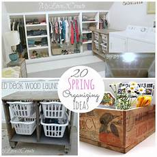 great ideas 20 spring organizing projects