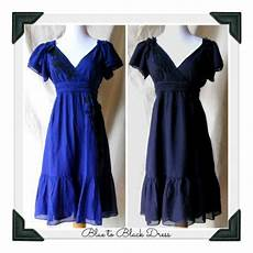 blue dye for clothes how to overdye a dress to make a black dress with