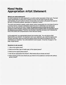 Artist Essay Examples Project Art A Day Artist Statement Examples Artist