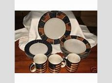 *Americana Dishes* Dinnerware Stoneware by Coventry (04/28
