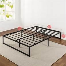 zinus 14 inch metal platform bed frame with steel slat