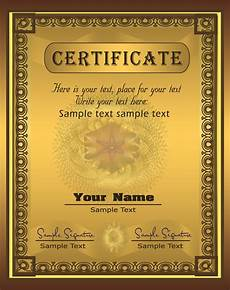 Certificates Templates Certificate Template Best Template Collection