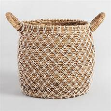 macrame basket large macrame seagrass tote basket world market
