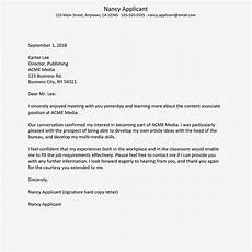 Thank You Letter For Interview Opportunity Thank You Letter To Send After An Interview Sample