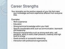 Professional Strengths Ppt Career Planning Powerpoint Presentation Id 1271705