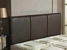 crownbedsuk quality faux leather alton headboard in 2ft6
