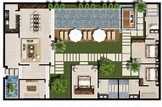 Villa Floor Plans Space Seclusion And Privacy At Chandra