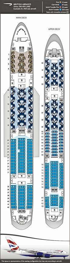 Airbus A380 Seating Chart Asiana Ba Airbus A380 Which Are The Best Seats Master