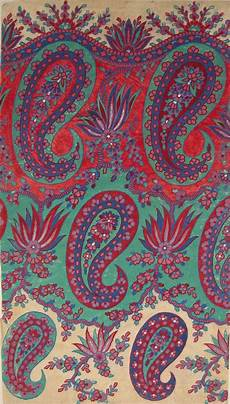 Paisley Design Images Paisley Shawl Designs Gsa Archives And Collections